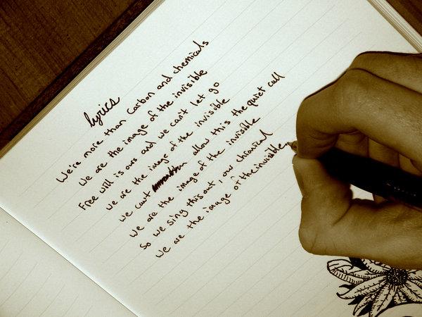 Writing_Lyrics_by_PapaBrent