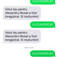 DE CE AM VOTAT CU ALEX MUȘAT?