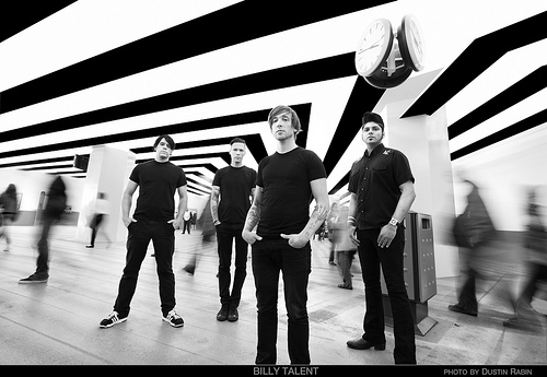 DESPRE TALENT…BILLY TALENT